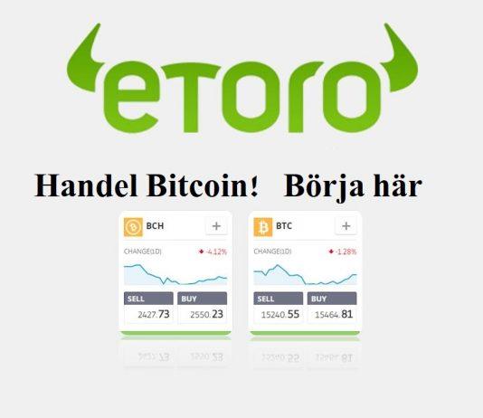 etoro bitcoin broker handel bitcoin! börja här! börja här
