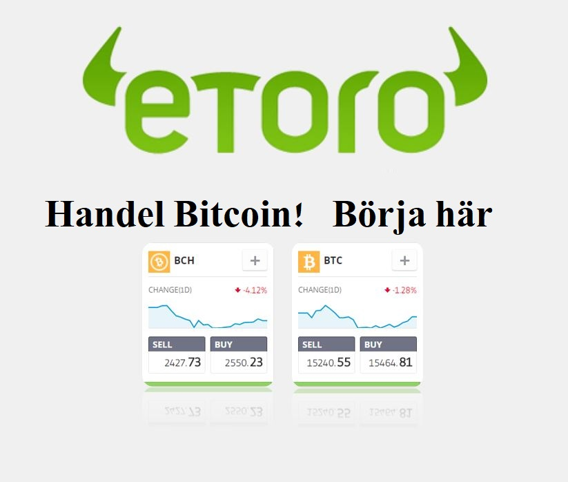 Etoro Bitcoin Broker Recension | BTC-handel med Etoro