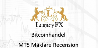 Legacyfx MT5 mäklare