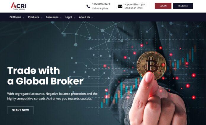 acri pro homepage
